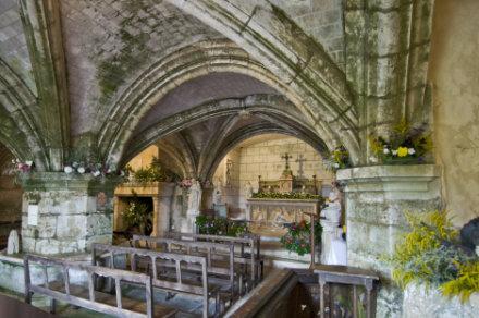 Chapelle troglodytique du Château de Valmer