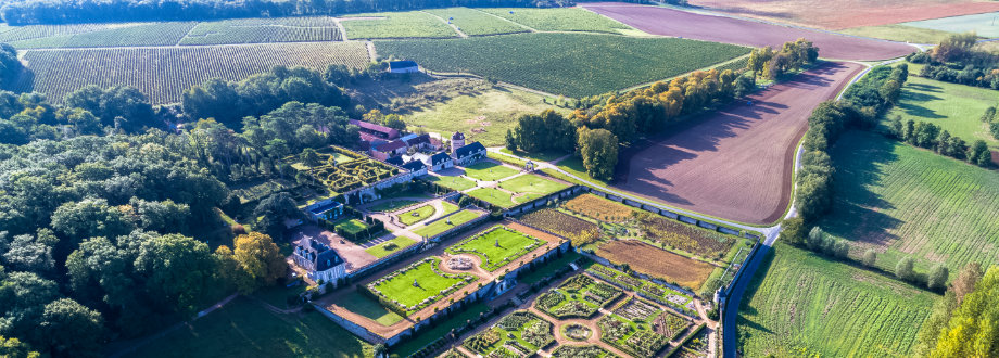 Aerial view of the Valmer estate © Charly's Drone