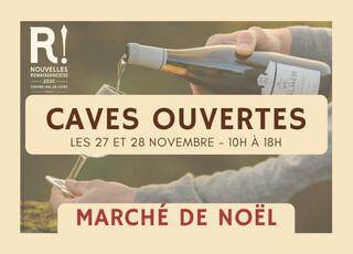 Caves Ouvertes et Marché de Noël - Les 27 et 28 novembre 2021