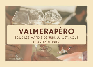 Valmerapéro - Les mardis de juin, juillet et août 2021