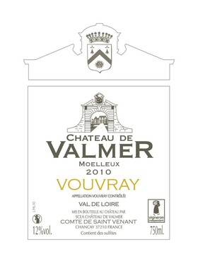 AOC Vouvray Moelleux 2010