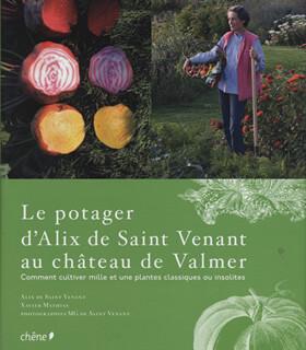 Le potager d'Alix de Saint Venant au Château de Valmer