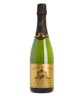 """AOC Vouvray Méthode Traditionnelle Brut """"fines bulles"""""""